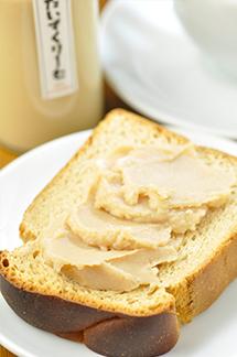 パンと「だいずくりーむ」