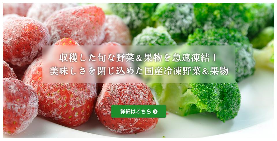 冷凍野菜事業(IQF・BQF)