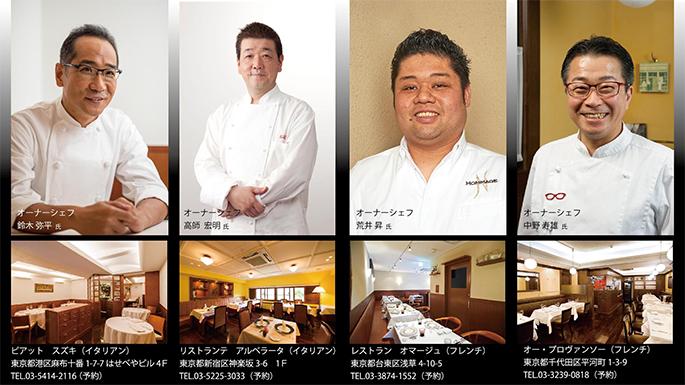 2017グルマンディーズSHIRAKAWAにご協力いただいたレストラン