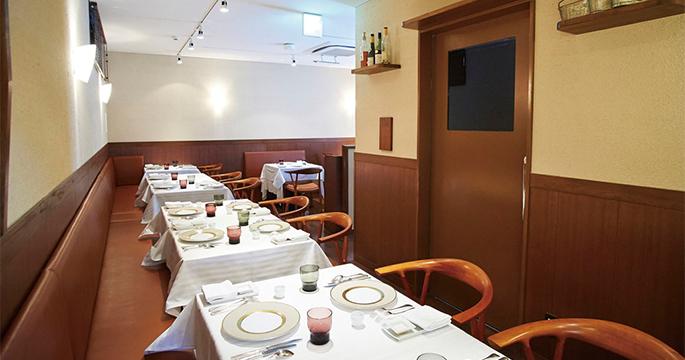 フレンチレストラン 『レストラン オマージュ』