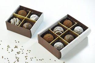 3種のショコラタイプのえごまチョコレート!